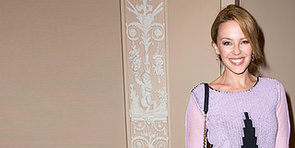 Kylie Minogue Smiles in France Following Her Split From Andres Velencoso