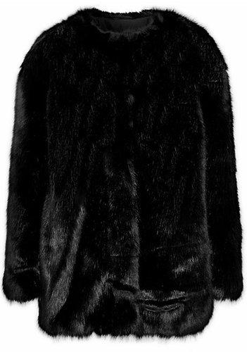 Karl Lagerfeld Oderesa faux fur coat