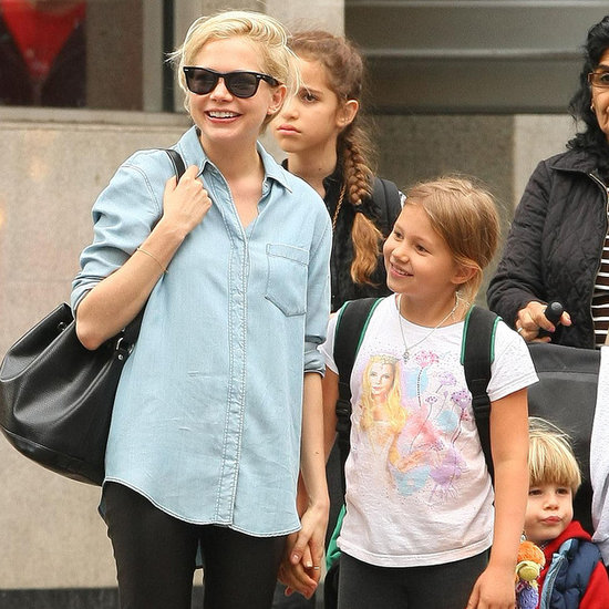 Photo of Michelle Williams & her Daughter  Matilda Ledger