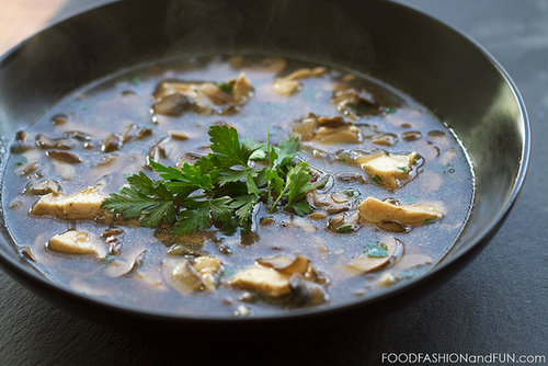 Let's Eat | Mushroom Soup