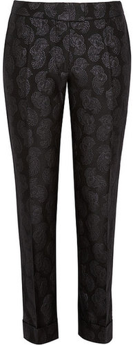 Stella McCartney Jacquard straight-leg pants