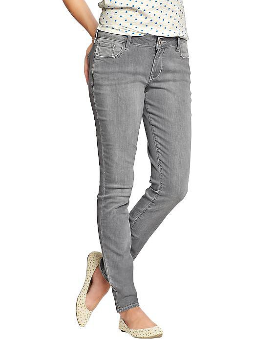Swap out your blue jeans for a moody gray pair, like these