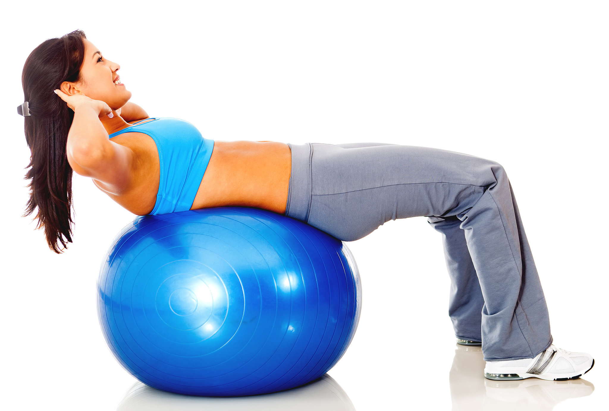 http://www.popsugar.com.au/fitness/photo-gallery/32196457/image/32196448/Upper-Abs-Crunches-Exercise-Ball