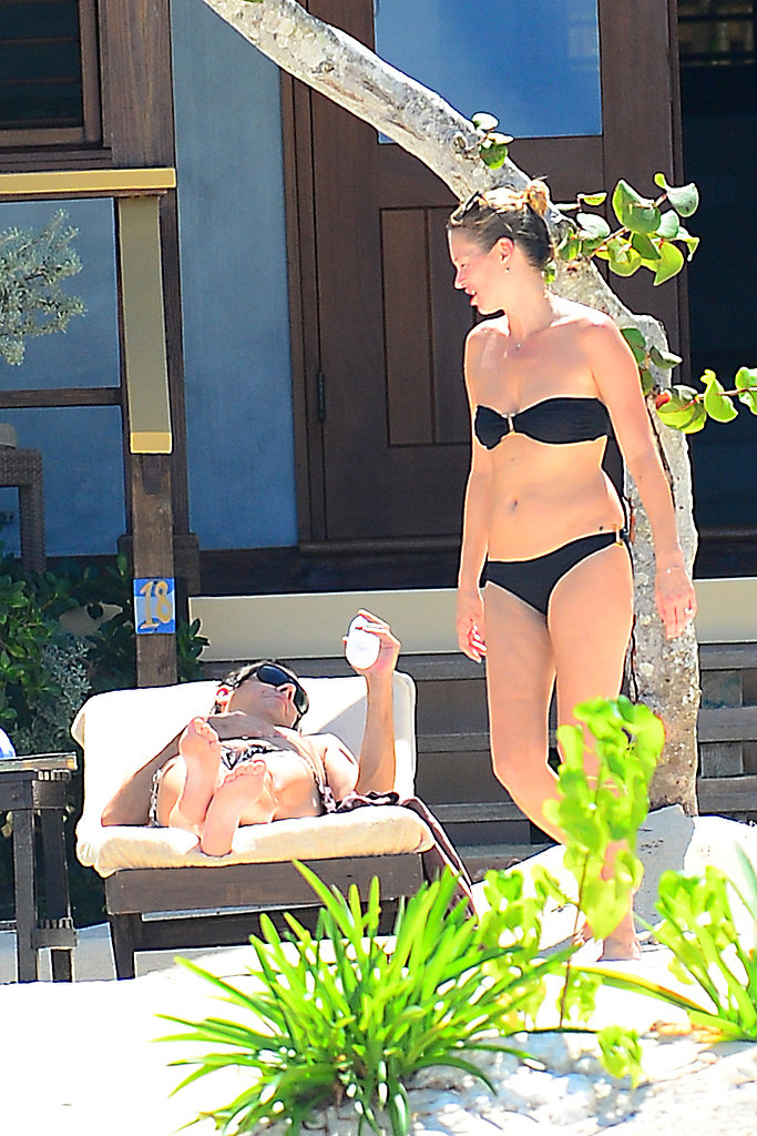 Jamie Hince and Kate Moss enjoyed their Jamaican vacation.