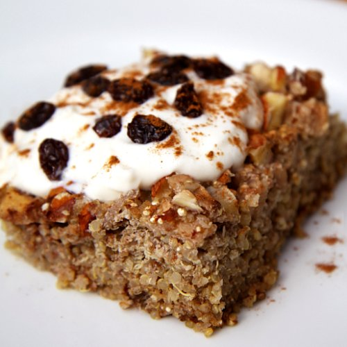 Apple Cinnamon Quinoa Breakfast Bake