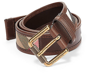 Burberry Graffin Leather Belt