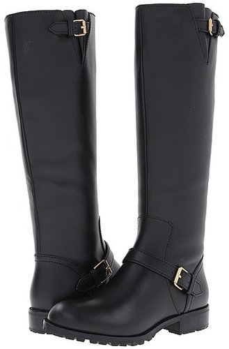 Marc by Marc Jacobs - Heavy Calf Moto Knee-High Boot (Black) - Footwear