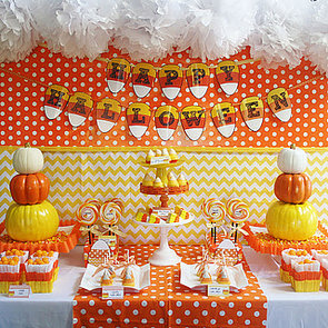 Candy Corn Halloween Party