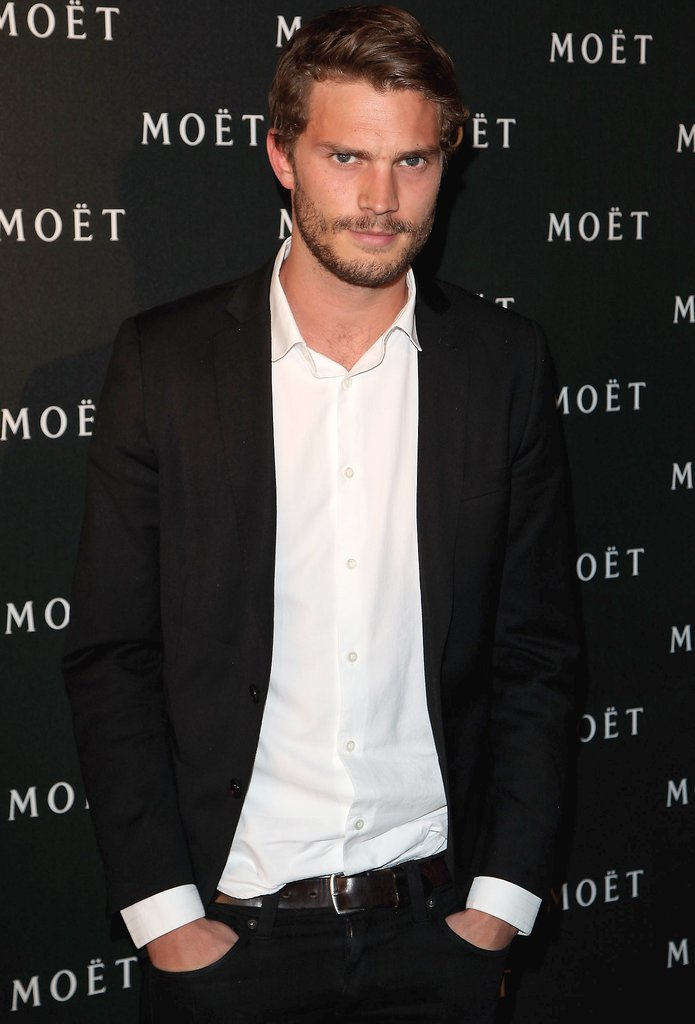 Jamie Dornan will play Christian Grey, the troubled billionaire who makes Anastasia's life a lot hotter.