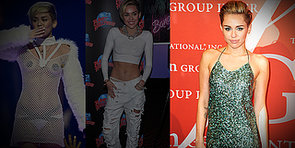Shocker! Miley Cyrus Covers Up in Sparkles — Do You Like?