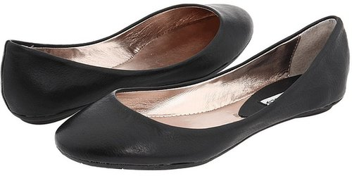 Steve Madden - P-Heaven (Black Leather) - Footwear