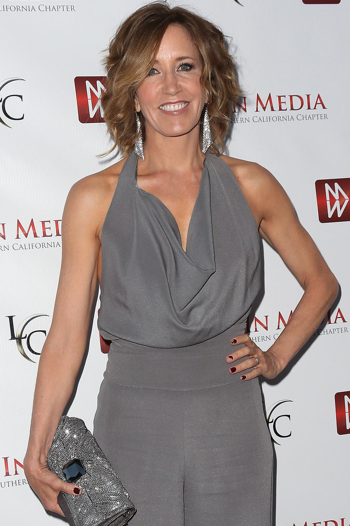 Felicity Huffman joined Big Game as a CIA director opposite Samuel L. Jackson as the US president.