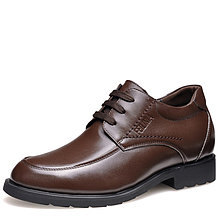 Black / Brown Men Height Inceasing Dress Shoes grow taller 6cm / 2.36inch