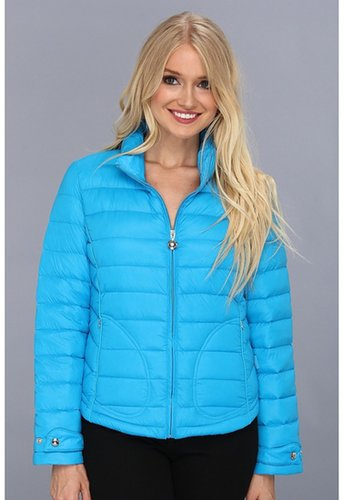 Calvin Klein - Packable Jacket CW312639 (Synthetic Blue) - Apparel