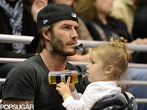 David-Beckham-put-his-game-face-Harper-Beckham-LA