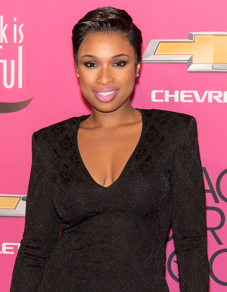 All eyes were on Jennifer Hudson, who debuted her new, cropped style on the red carpet.