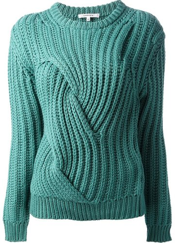 Carven chunky-knit sweater