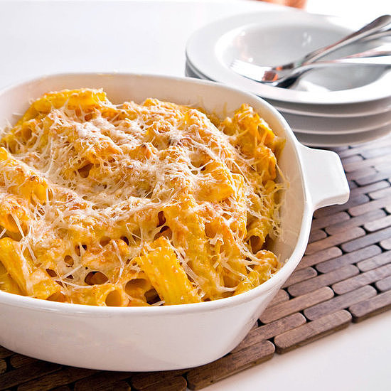 Pumpkin Parmesan Pasta Bake