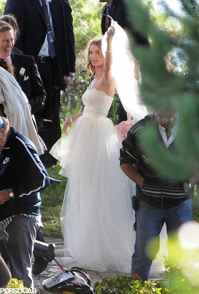 Emily VanCamp filmed Revenge.