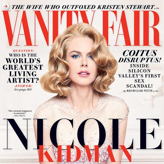 Nicole Kidman in Vanity Fair Magazine December 2013 Issue