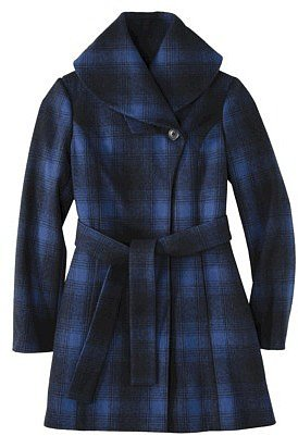 Merona® Women's Shawl Collar Coat -Athens Blue
