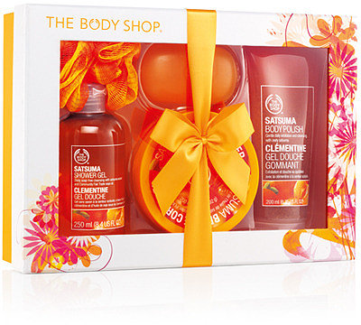 Satsuma Shower, Scrub & Soften Luxury Gift