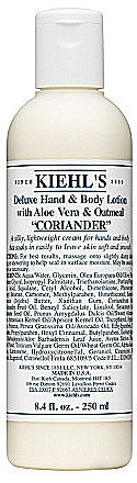 Kiehl ́s Deluxe Hand & Body Lotion with Aloe Vera & Oatmeal