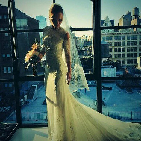 Christina Ricci Wedding Dress Pictures