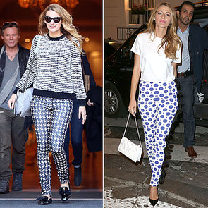 Blake Lively's Printed Pants