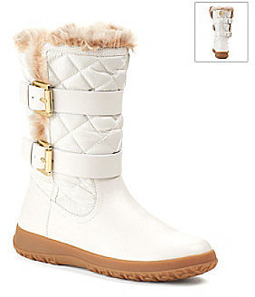 "MICHAEL Michael Kors® ""Aaran"" Casual Fur and Fleece Boot"
