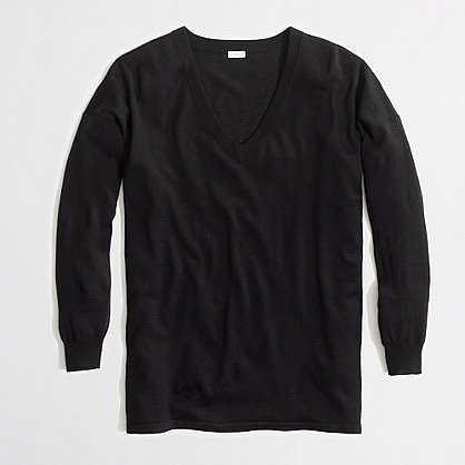 Factory merino boyfriend sweater