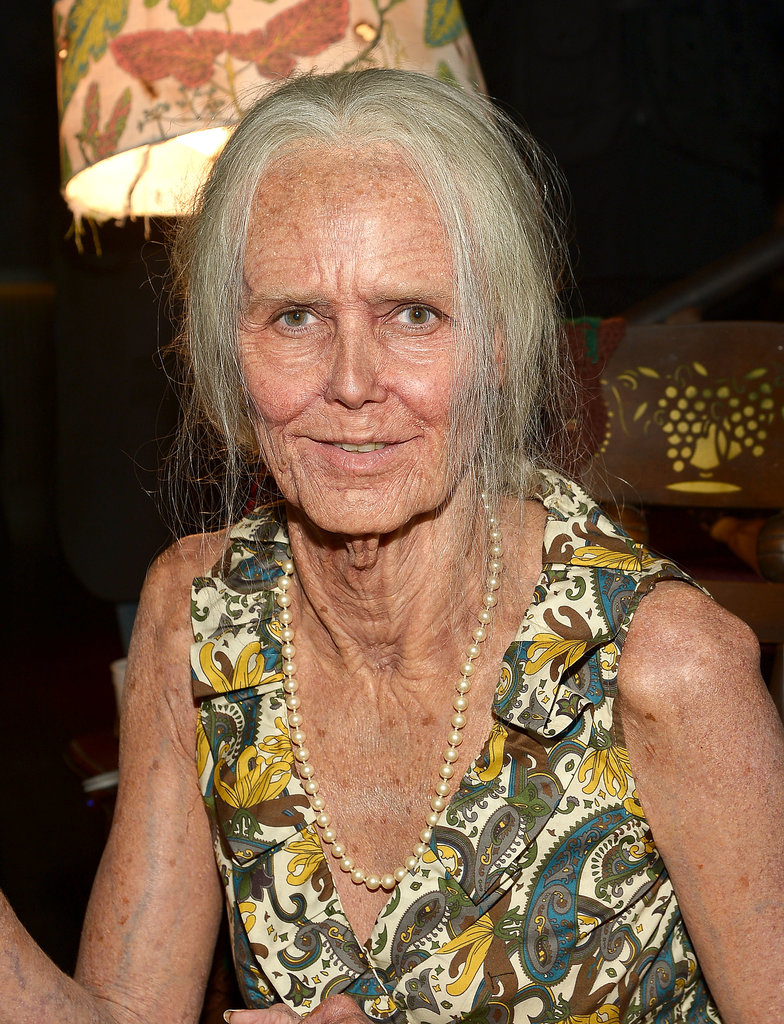 This year, Heidi went the realistic route and dressed as herself . . . but as an old lady!