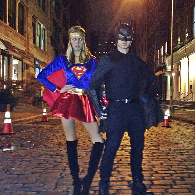 Supergirl and Batman