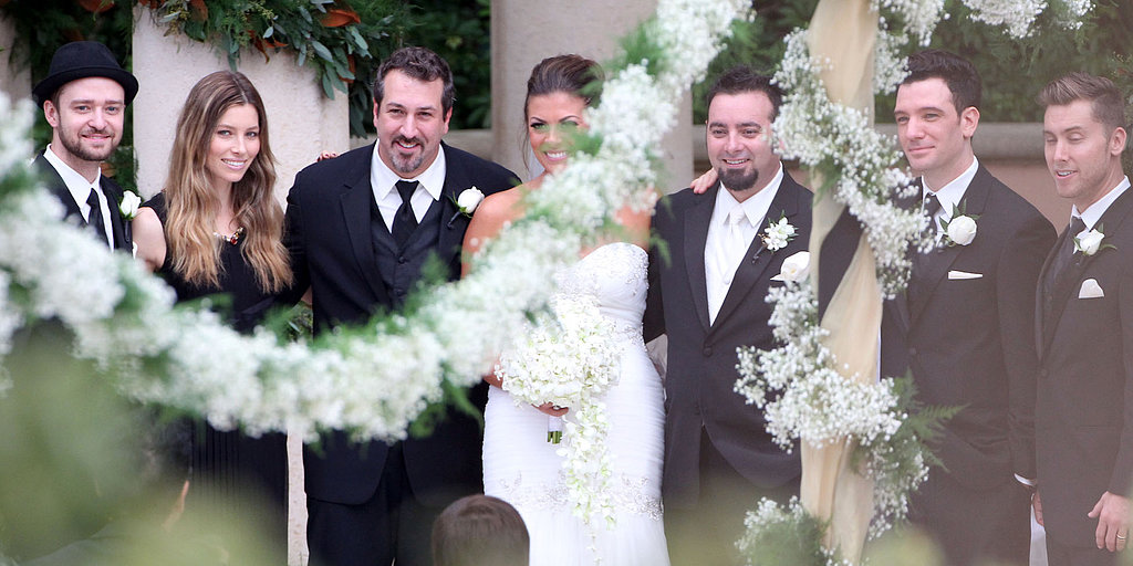 *NSYNC Comes Together For Chris's Wedding