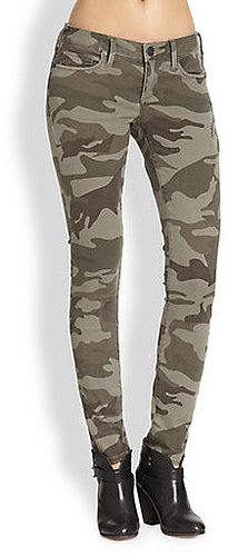 True Religion Casey Camouflage-Print Skinny Pants