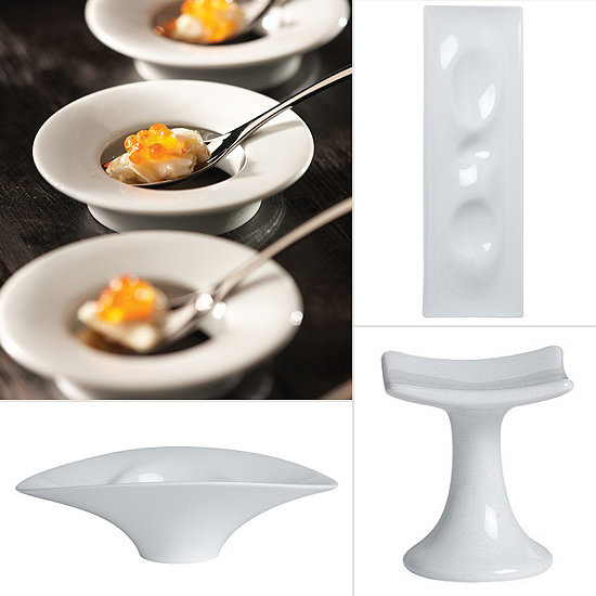 Small, Modern Plates