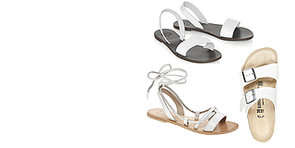 Shop: White Sandals To Step Out In All Summer
