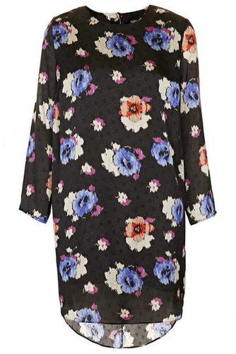 Spot Floral Tunic Dress