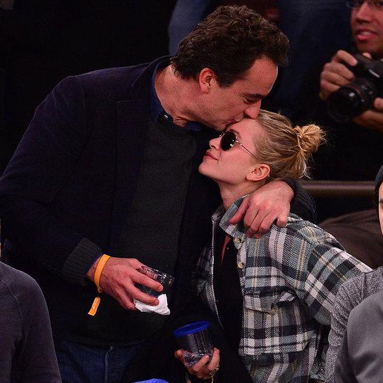 Pics: Mary-Kate Olsen, Boyfriend Olivier Sarkozy, Basketball