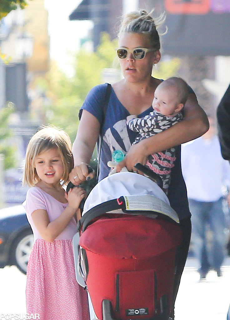 Busy Philipps Daughter Busy Philipps Headed to Lunch