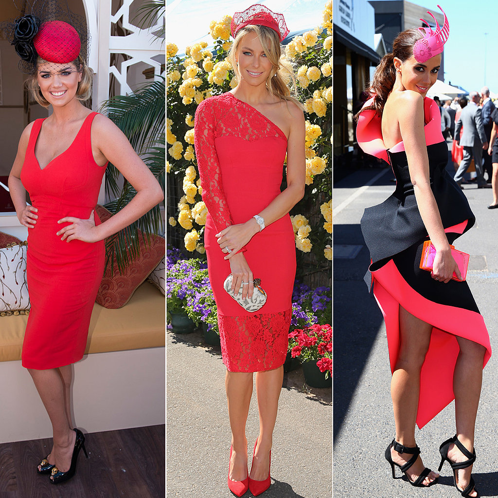 Melbourne Cup See Who Wore