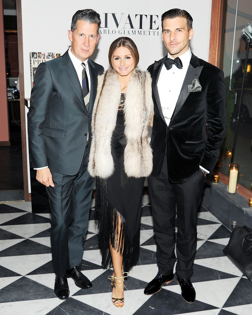 Olivia Palermo and Johannes Huebl were on hand to help Stefano Tonchi celebrate the launch of Private.