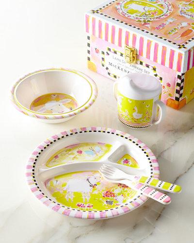For 1-Year-Olds: MacKenzie-Childs Toddler Dinnerware Set