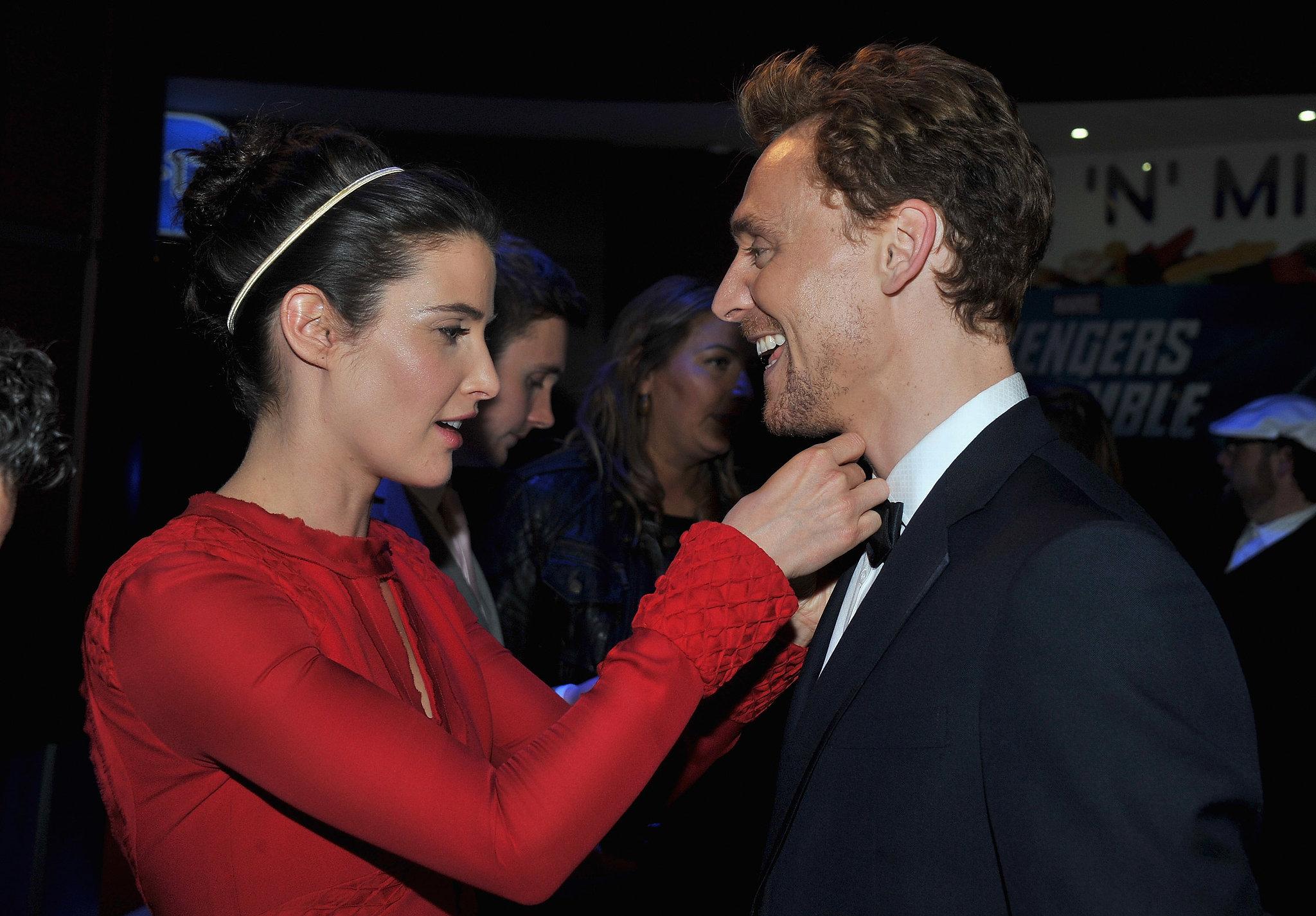 Cobie Smulders tom hiddleston