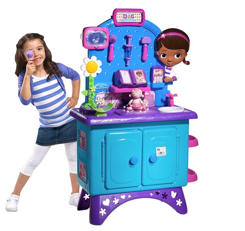 For 3-Year-Olds: Doc McStuffins Get Better Check-Up Table