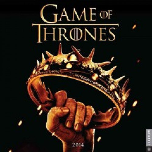 Game of Thrones 2014 Wall Calendar ($15)