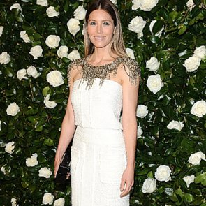 Jessica Biel Wearing Chanel Dress at MOMA Film Benefit