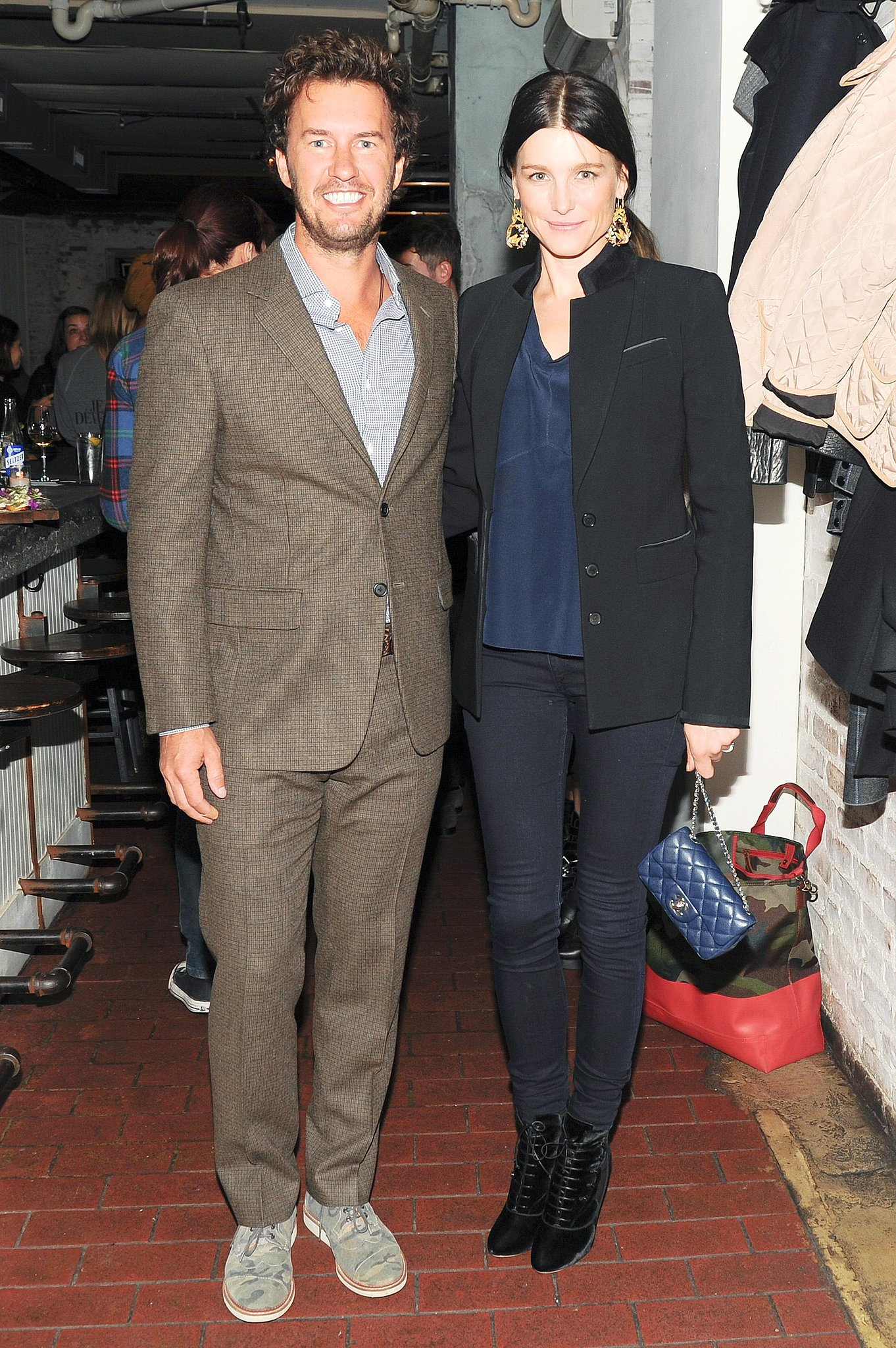 Blake Mycoskie and Tabitha Simmons teamed up to celebrate their TOMS collaboration at New York's The Fat Radish.
