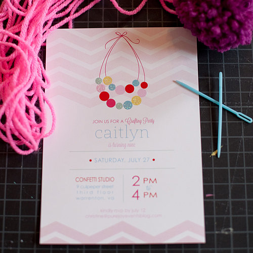 Crafting Party Ideas For Kids
