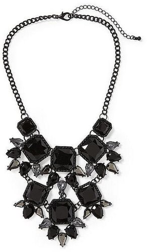 Tinley Road Black All Over Statement Necklace